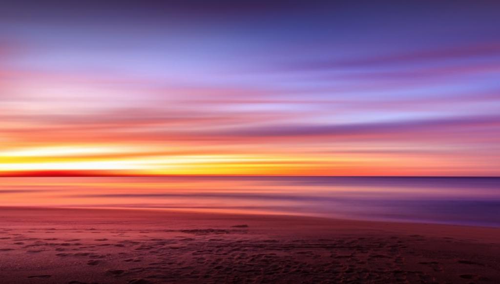 Dawn at the beach Genesis