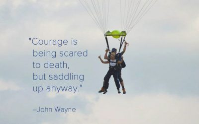 Courage to Leap From Fear to Freedom