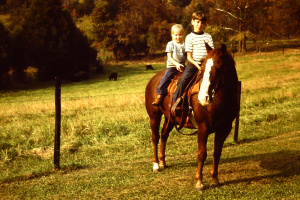 Horses, Dirt Bikes, & Slingshots: shaped by my childhood adventures