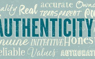 Authenticity: No crock