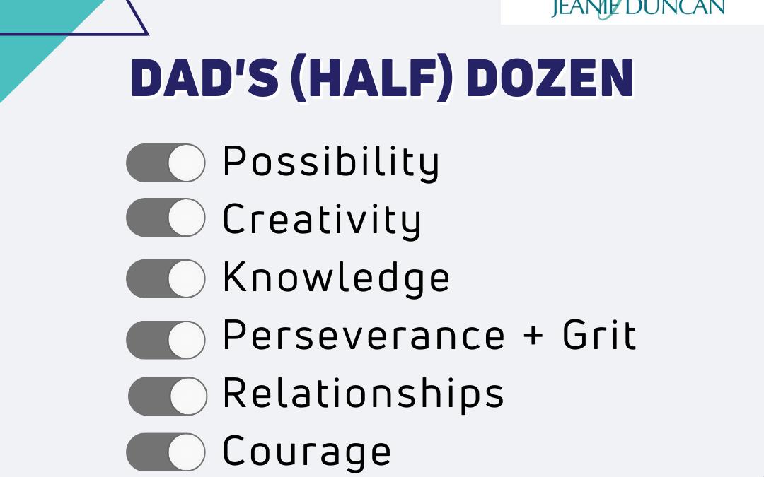 Dad's (half) Dozen